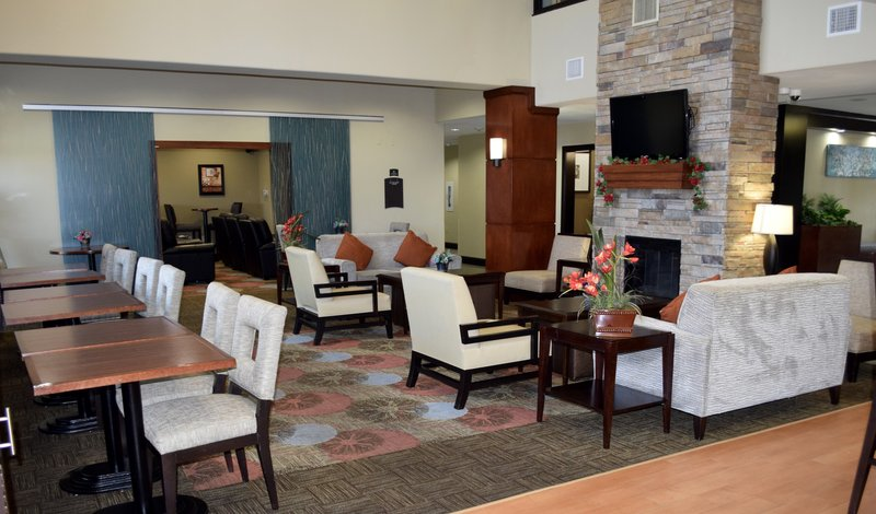 Staybridge Suites Houston Stafford - Sugar Land-Guest Dining Lounge<br/>Image from Leonardo
