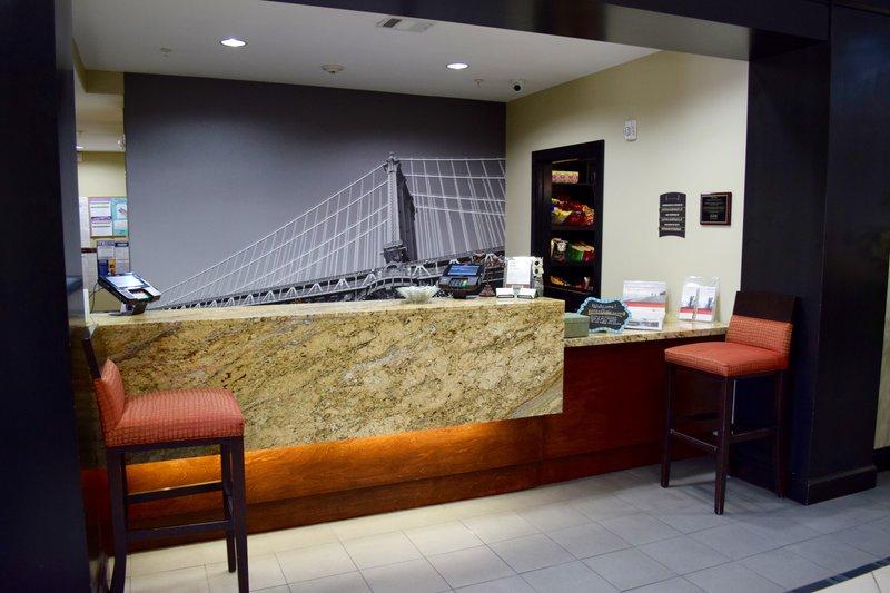 Staybridge Suites Houston Stafford - Sugar Land-Front Desk<br/>Image from Leonardo