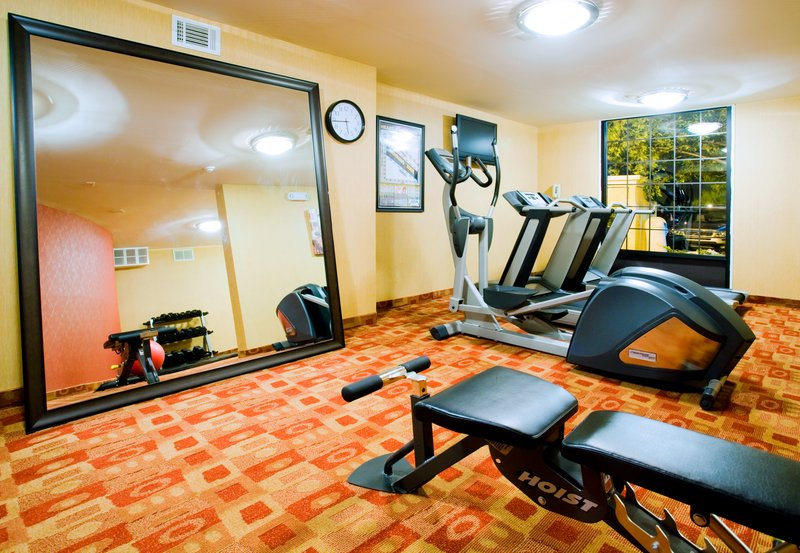 Holiday Inn Express Winston-Salem Downtown West-Fitness Center<br/>Image from Leonardo