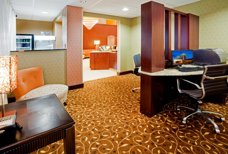 Holiday Inn Express Winston-Salem Downtown West-Business Center with copier, fax and scan capabilities<br/>Image from Leonardo
