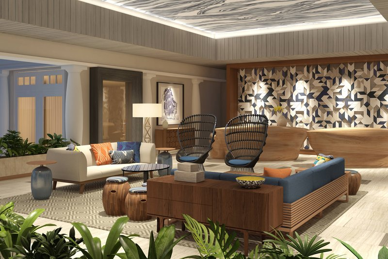 Renaissance Curacao-Lobby & Front Desk<br/>Image from Leonardo