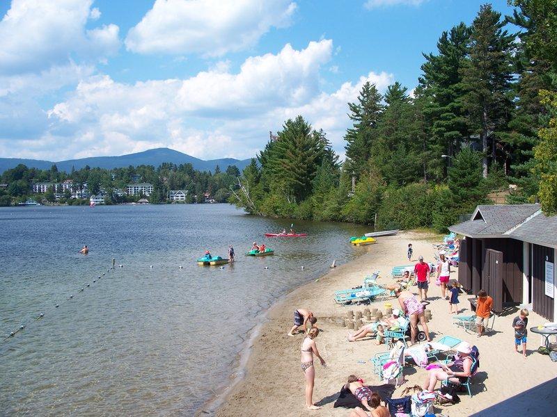 Crowne Plaza Lake Placid-Take a dip in the pristine Mirror Lake<br/>Image from Leonardo