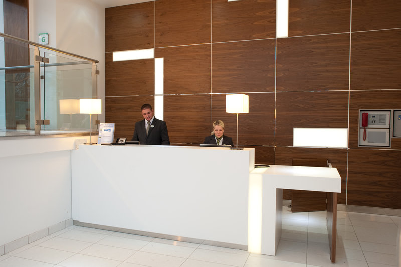 Holiday Inn Derby Riverlights-Front Desk <br/>Image from Leonardo