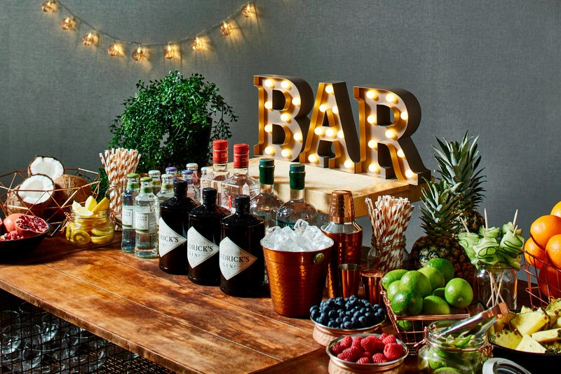 Marriott Cardiff Hotel-Catering - Gin Bar<br/>Image from Leonardo