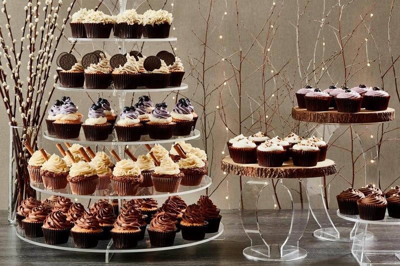 Marriott Cardiff Hotel-Catering - Cupcake Table<br/>Image from Leonardo