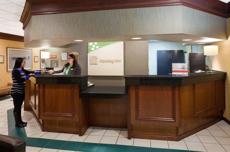 Holiday Inn Fairmont-Front Desk<br/>Image from Leonardo