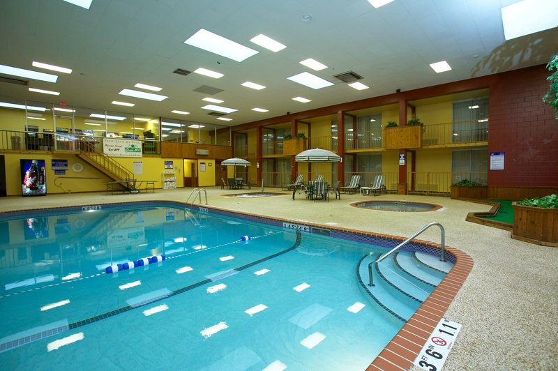 Holiday Inn Fairmont-We feature a large indoor heated swimming pool, kiddie pool & spa.<br/>Image from Leonardo