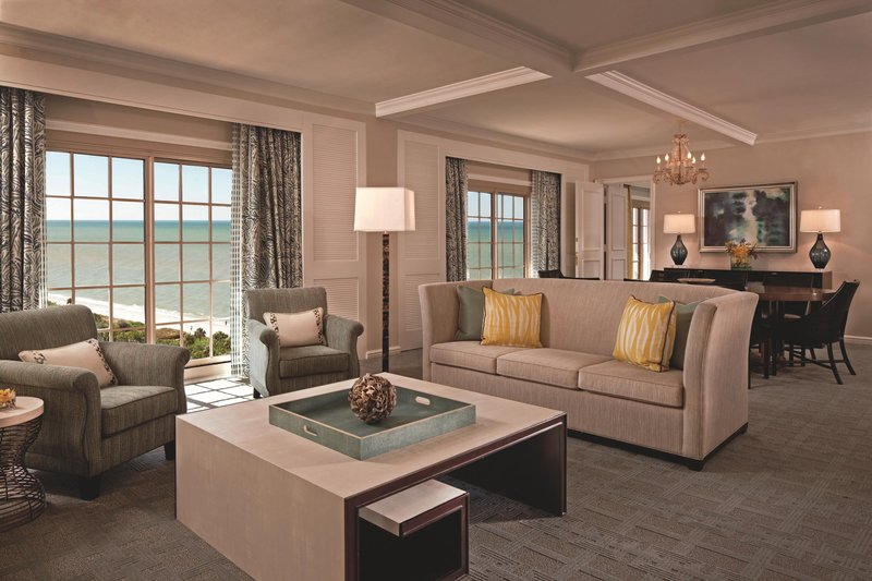 The Ritz-Carlton Naples - Royal Suite - Living Area <br/>Image from Leonardo