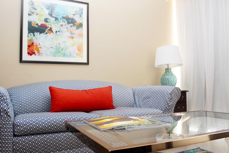 The Courtleigh-One Bedroom Suite Living Room<br/>Image from Leonardo