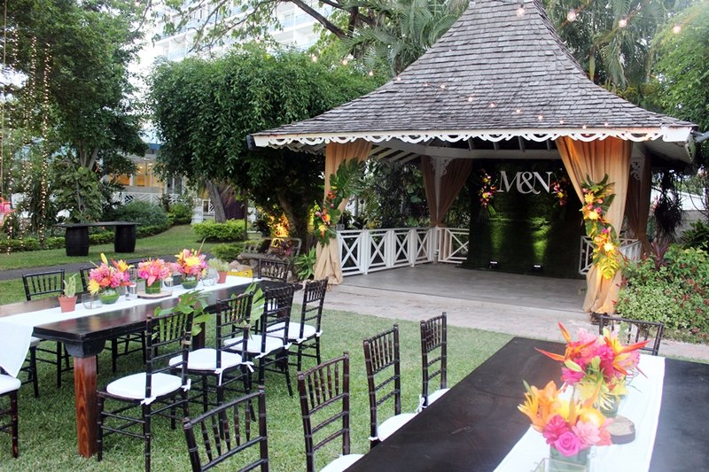 Jamaica Pegasus-Garden Wedding<br/>Image from Leonardo