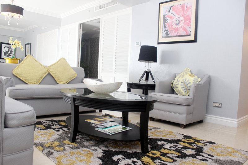 Jamaica Pegasus-Liguanea Suite Living Room<br/>Image from Leonardo