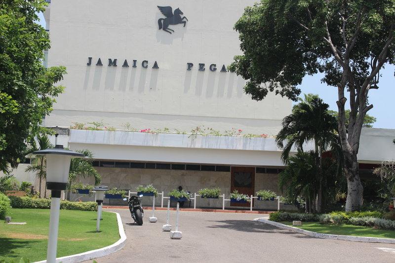 Jamaica Pegasus-Entrance<br/>Image from Leonardo