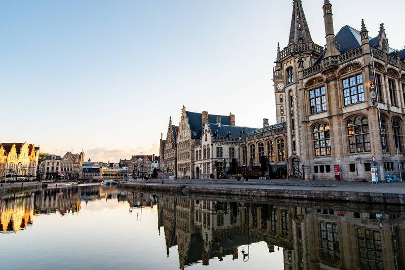Ghent Marriott Hotel-River Lys<br/>Image from Leonardo