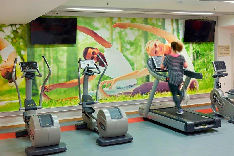 Ghent Marriott Hotel-Fitness Center<br/>Image from Leonardo