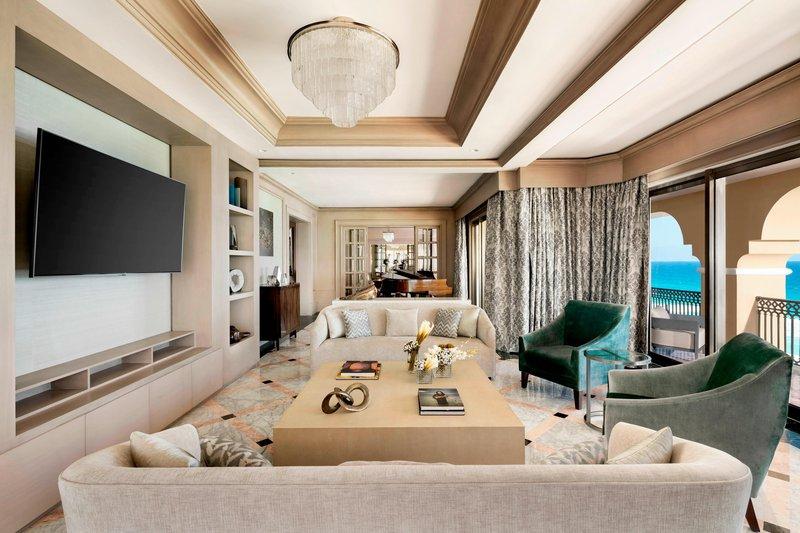 The Ritz-Carlton Cancun - Suite Living room <br/>Image from Leonardo