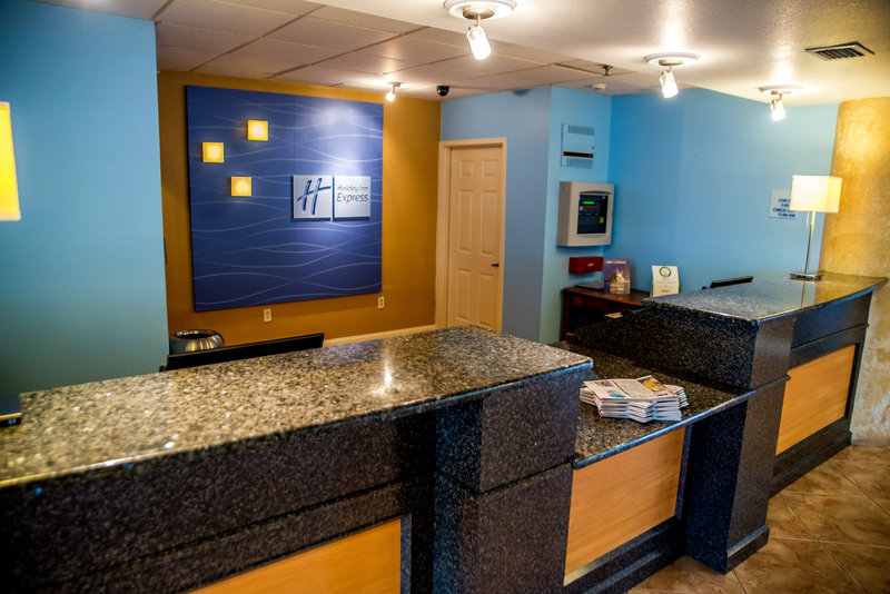 Holiday Inn Express & Suites Cocoa Beach-Front Desk<br/>Image from Leonardo