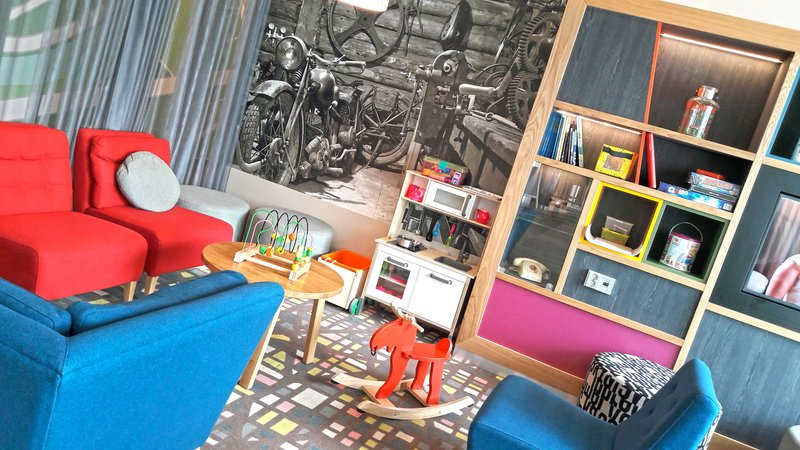 Holiday Inn Helsinki - West -Ruoholahti-Kids can enjoy and play at our kids corner.<br/>Image from Leonardo