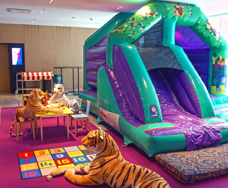 Holiday Inn Helsinki - Exhibition & Convention Centre-Kids can enjoy and play at the 2nd floor kids corner<br/>Image from Leonardo