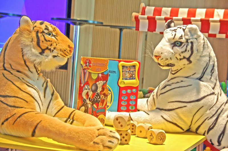 Holiday Inn Helsinki - Exhibition & Convention Centre-Play with tigers at the kids corner<br/>Image from Leonardo