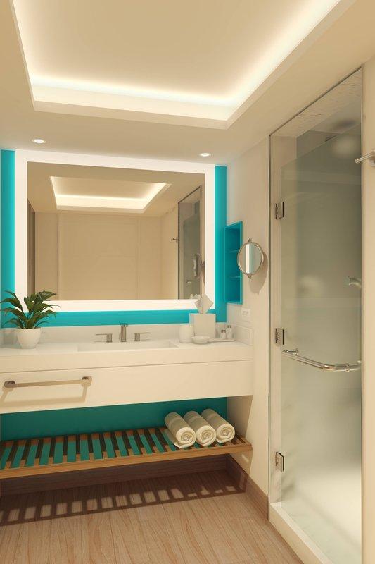 Renaissance Curacao-Guest Bathroom<br/>Image from Leonardo