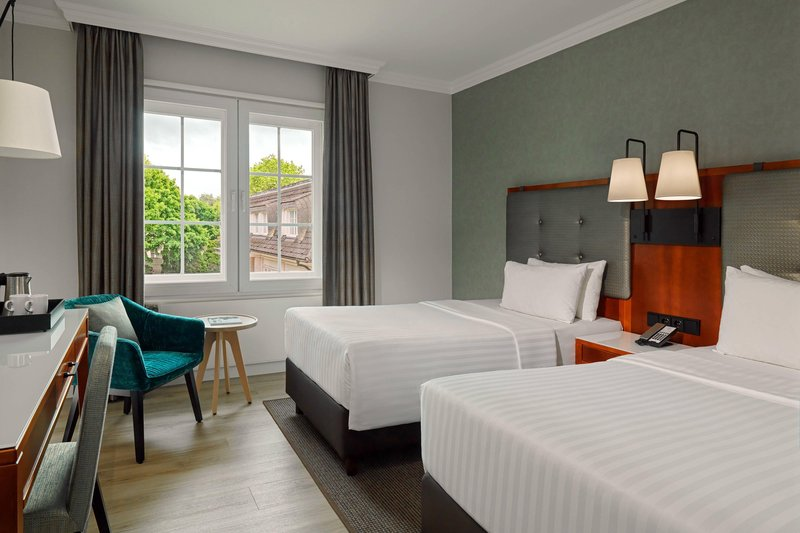 Courtyard Hamburg Airport-Courtyard Twin Room<br/>Image from Leonardo