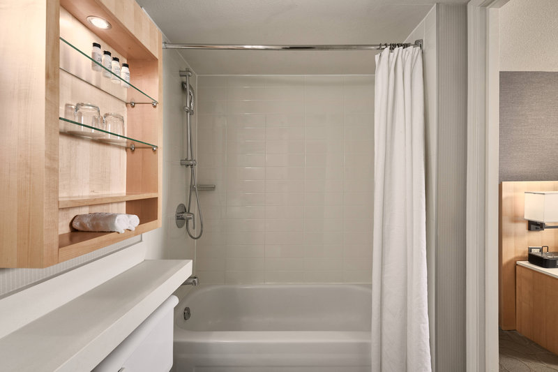 Delta Whistler Village Suites-Guest Bathroom - Bathtub & Shower<br/>Image from Leonardo