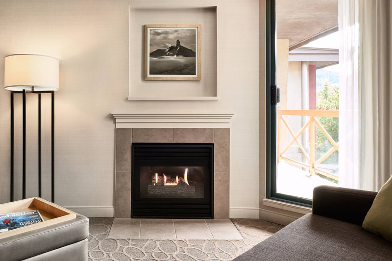 Delta Whistler Village Suites-Suite - Fireplace<br/>Image from Leonardo