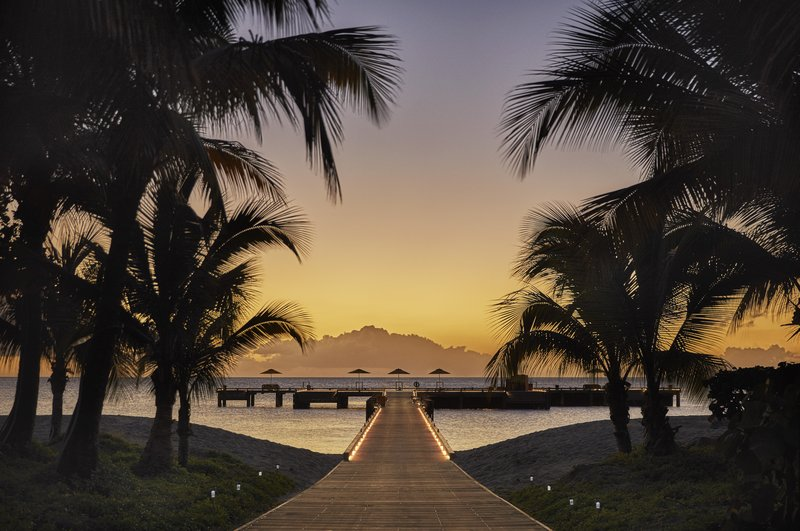 Four Season Resort Nevis-NEV_ RESORT PIER EVENING<br/>Image from Leonardo