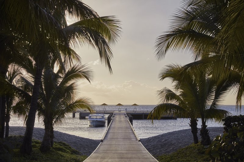 Four Season Resort Nevis-NEV_RESORT PIER IN THE EVENING<br/>Image from Leonardo