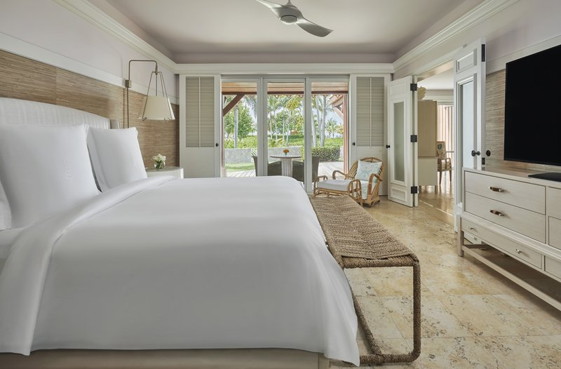 Four Season Resort Nevis-NEV_CHELANII SUITE BEDROOM<br/>Image from Leonardo