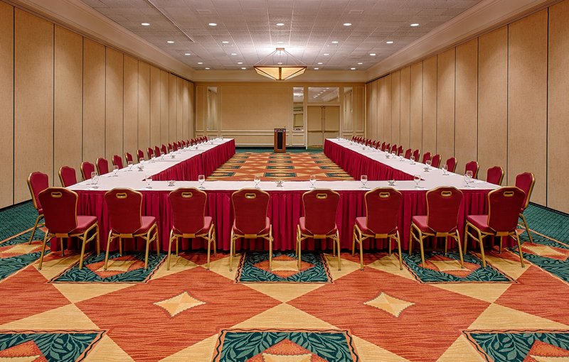 Crowne Plaza Austin-Our meeting space can be set to accommodate your needs. <br/>Image from Leonardo
