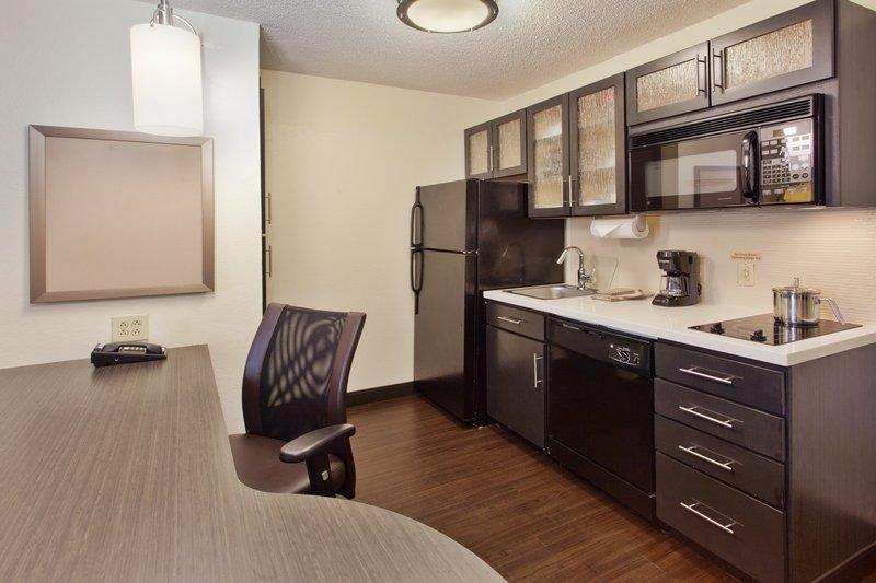 Candlewood Suites Albuquerque-One Bedroom Suite Kitchen<br/>Image from Leonardo