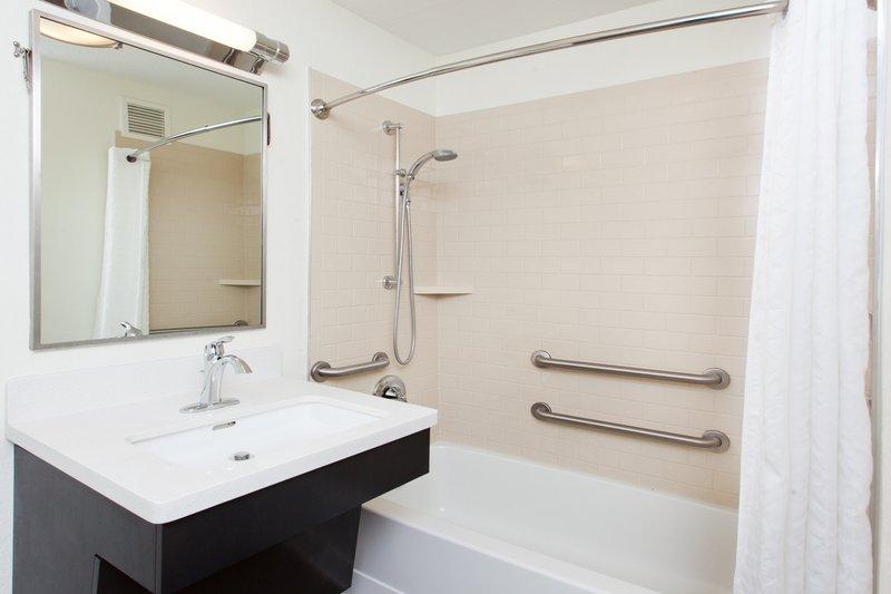 Candlewood Suites Albuquerque-ADA Restroom with Tub<br/>Image from Leonardo