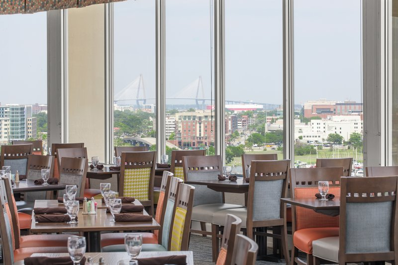 Holiday Inn Charleston-Riverview-Panoramic views of Downtown Charleston<br/>Image from Leonardo