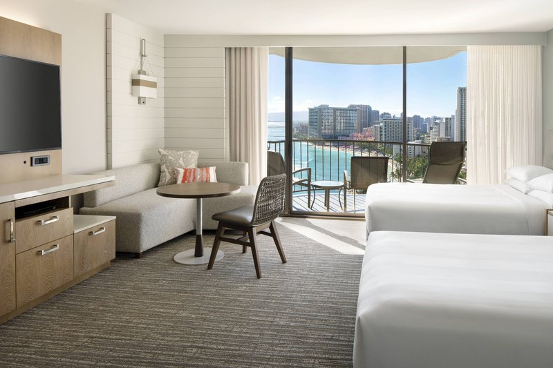 Waikiki Beach Marriott Resort  - Kealohilani Tower Double/Double Ocean Front Room <br/>Image from Leonardo