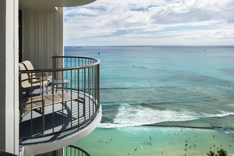 Waikiki Beach Marriott Resort  - Kealohilani Tower Ocean Front Guest Room View <br/>Image from Leonardo