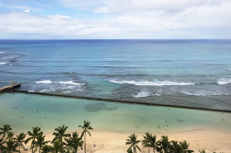 Waikiki Beach Marriott Resort  - Kealohilani Tower Ocean Front Guest Room - View <br/>Image from Leonardo