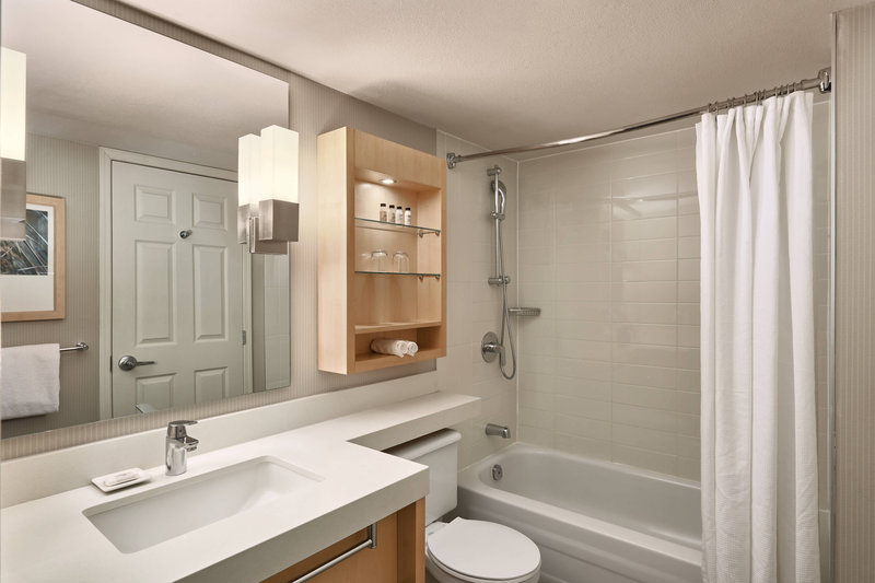 Delta Whistler Village Suites-Guest Bathroom<br/>Image from Leonardo