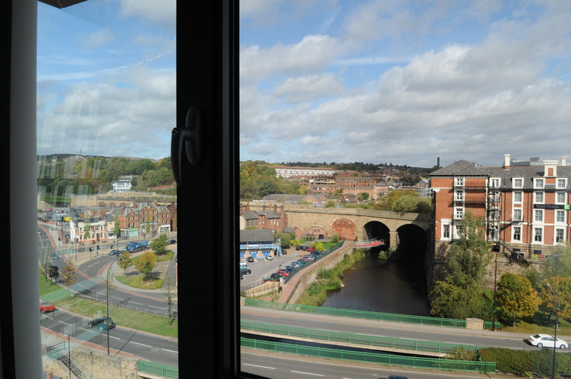 Holiday Inn Express Sheffield City Centre-View from a Bedroom<br/>Image from Leonardo