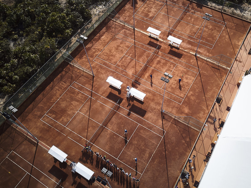TRS Coral - Tennis Courts <br/>Image from Leonardo