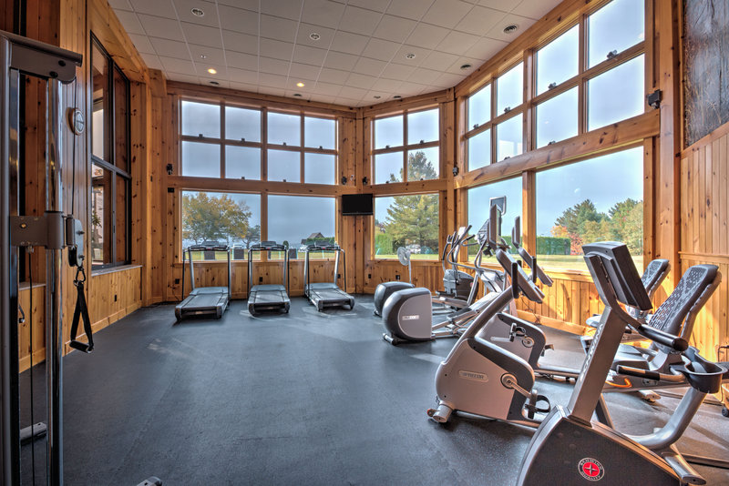 Crowne Plaza Lake Placid-Our fitness center offers cardio with a view<br/>Image from Leonardo