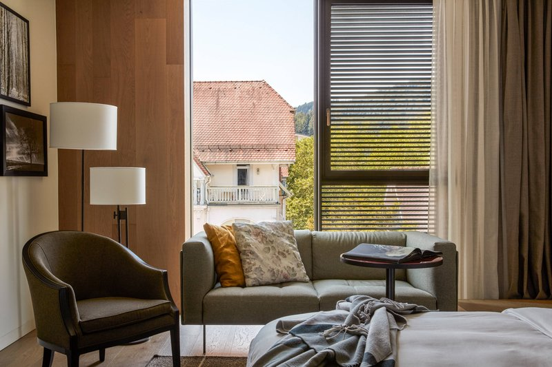 Autograph Collection Roomers Baden-Baden-King Deluxe Guest Room View<br/>Image from Leonardo
