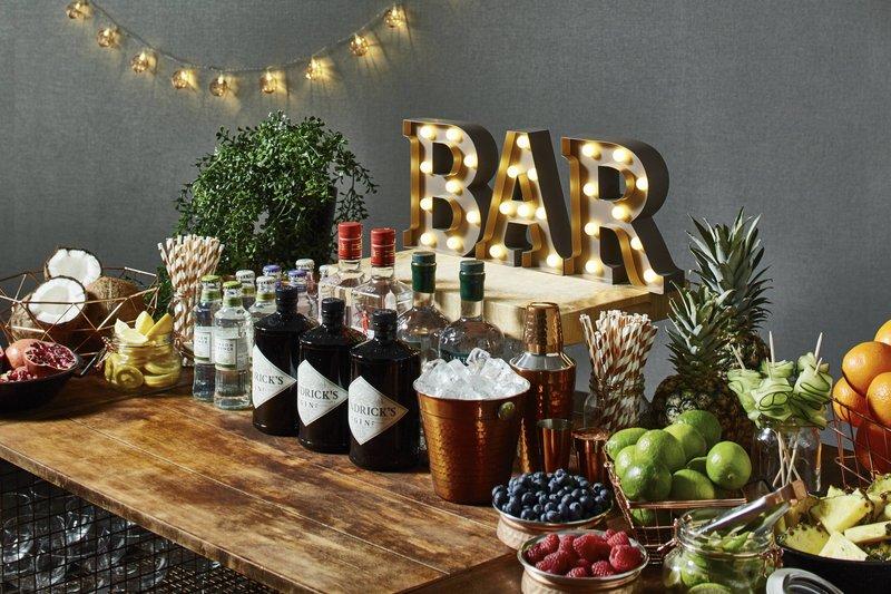 Marriott Glasgow-Catering - Gin Bar<br/>Image from Leonardo