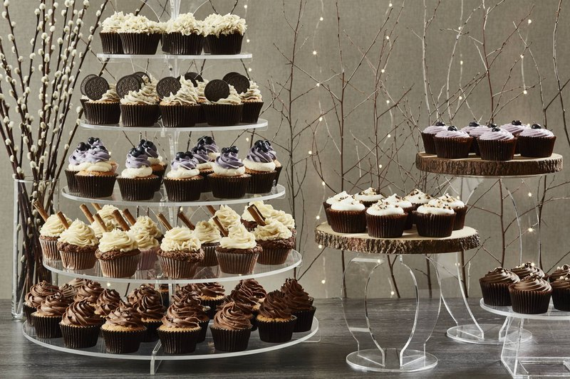 Marriott Glasgow-Catering - Cupcake Table<br/>Image from Leonardo