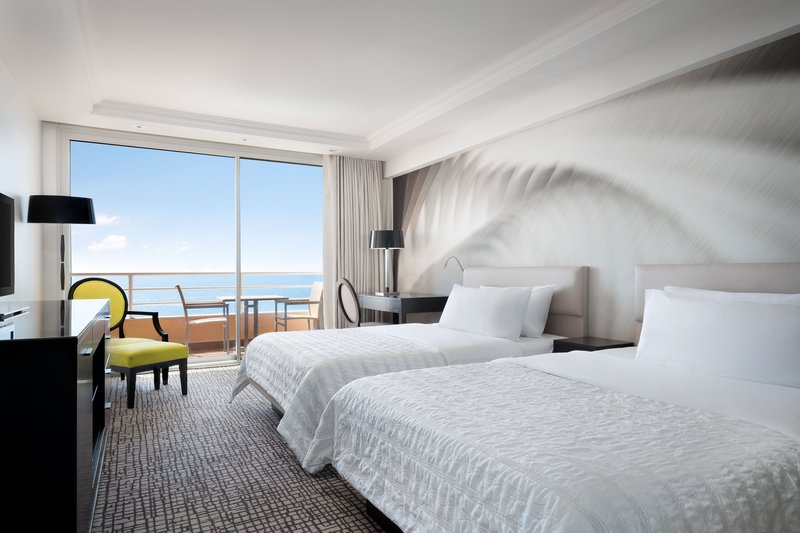 Le Meridien Beach Plaza-Double/Double Deluxe Sea View Guest Room<br/>Image from Leonardo