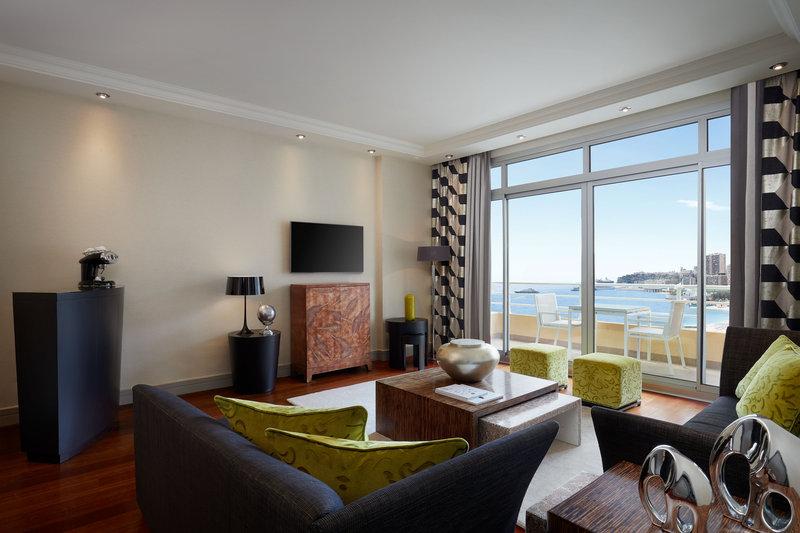 Le Meridien Beach Plaza-Executive Suite Living Room<br/>Image from Leonardo