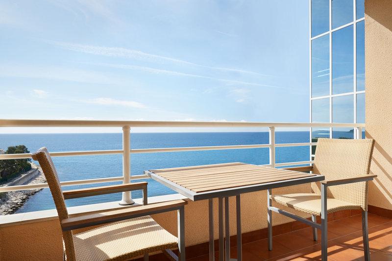 Le Meridien Beach Plaza-Deluxe Guest Room Balcony<br/>Image from Leonardo