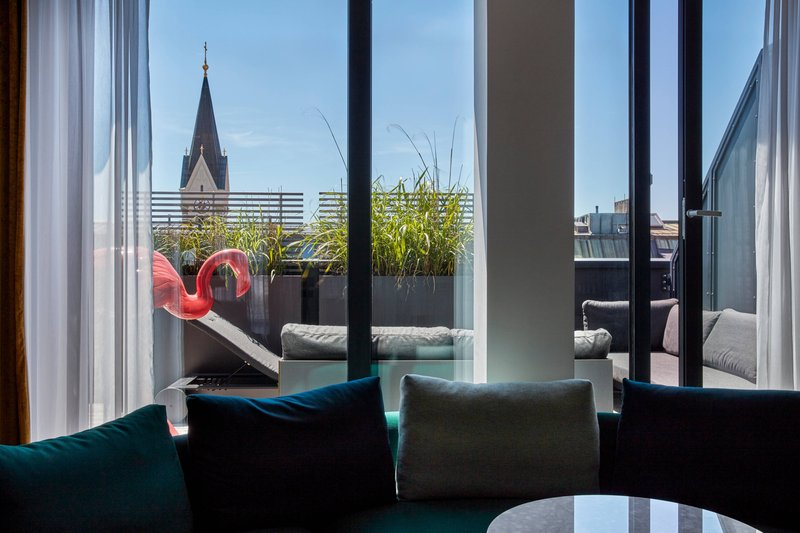 Autograph Collection Roomers Munich-Penthouse Suite - View<br/>Image from Leonardo