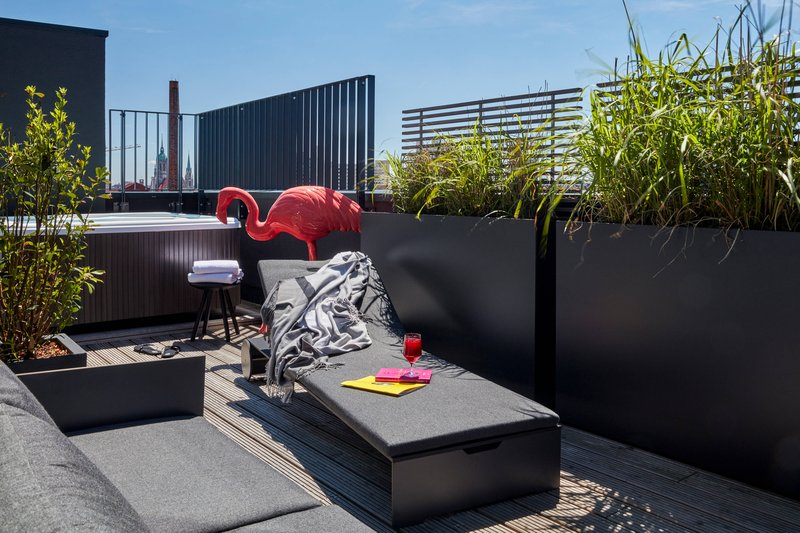 Autograph Collection Roomers Munich-Penthouse Suite - Terrace<br/>Image from Leonardo