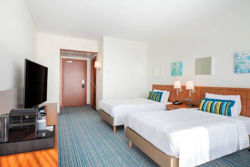 Courtyard Brussels-Superior Twin/Twin Guest Room<br/>Image from Leonardo